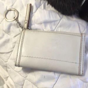 Coach key holder and purse